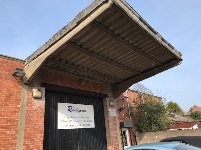 Arundel Street Derby Bat Survey - outside warehouse