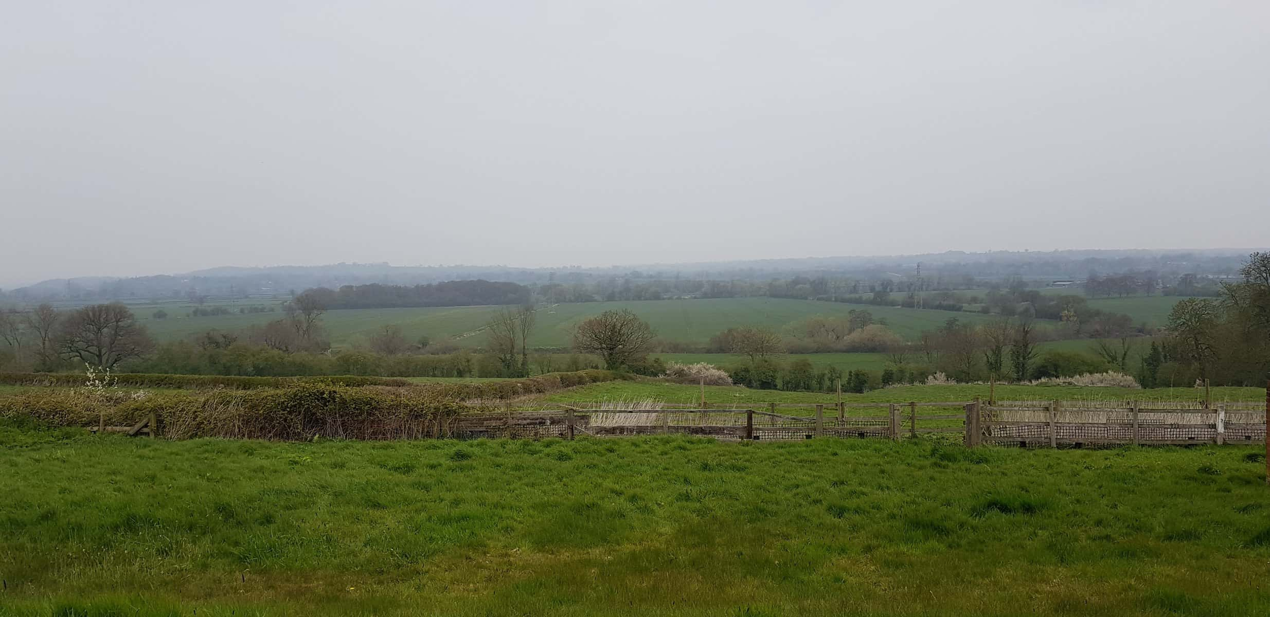 Bat Survey Marchington, Uttoxeter Staffordshire - View from rear of property
